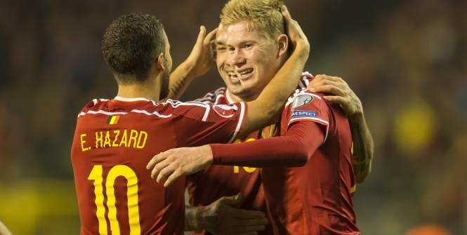 La Belgique reste en tête du classement FIFA