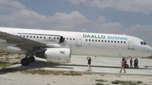 Explosion à bord d'un avion somalien