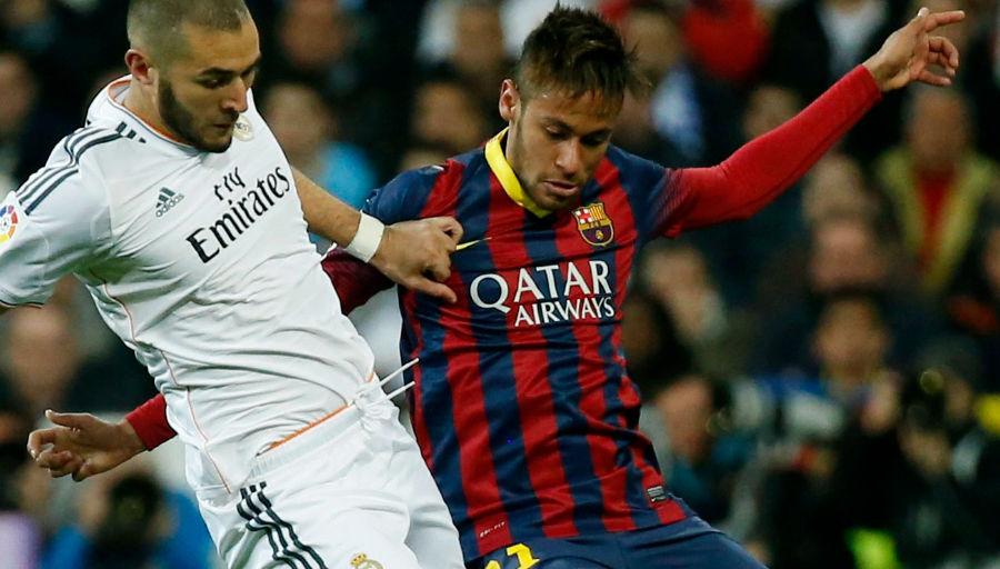 """Neymar a écrit """"Hala Madrid !"""""""