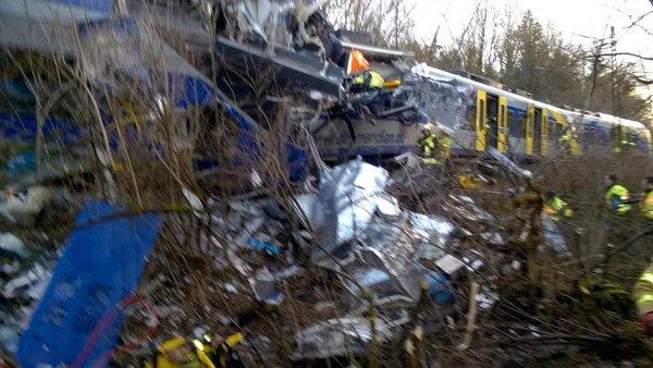 Allemagne: plusieurs morts et des centaines de blessés dans un accident ferroviaire en Bavière