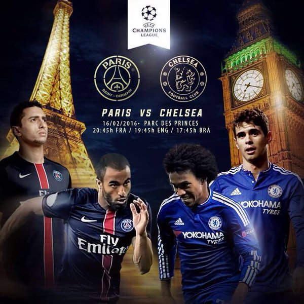 UEFA Champions League : PSG - Chelsea en direct
