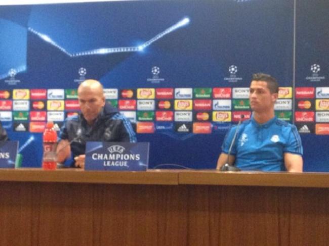 """LDC Roma vs Real Madrid - Cristiano Ronaldo raille Totti: """"Il a quel âge ? 40 ans ? Impressionnant"""""""