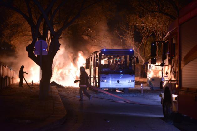 Turquie : violente explosion à Ankara, plusieurs morts