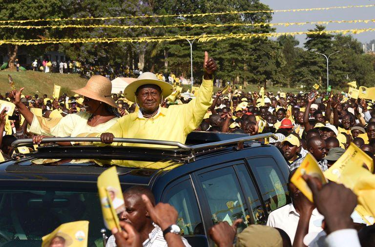 Yoweri Museveni «réélu» une cinquième fois président de l'Ouganda
