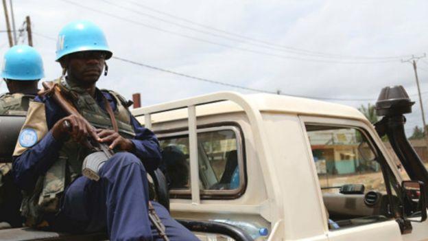 Des soldats mauritaniens en RCA
