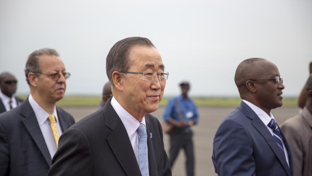 RDC: après le Burundi, Ban Ki-moon en visite au Nord-Kivu