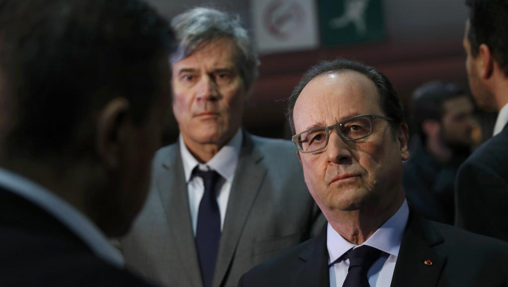 France: Hollande vivement chahuté à l'ouverture du Salon de l'agriculture
