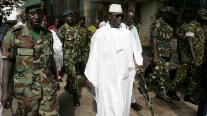 Gambie : Y. Jammeh vers un 5è mandat
