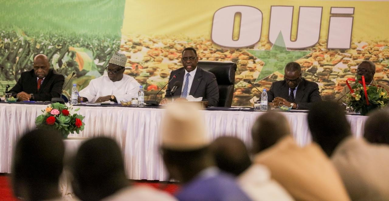 Camp du Oui : Les alliés du Président Macky Sall revigorés à bloc.