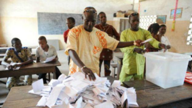 Fin des dépouillements du vote au Bénin