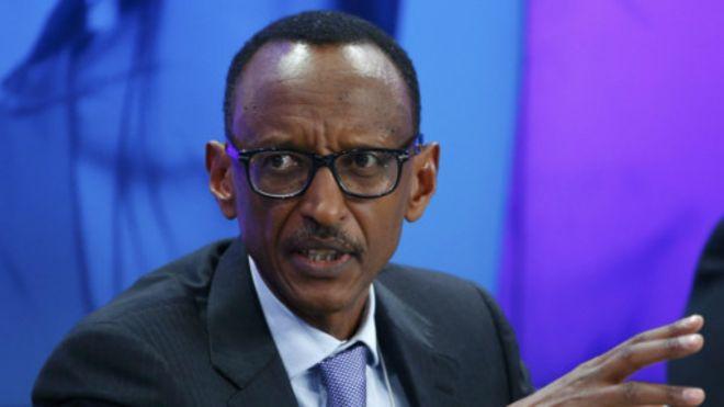 Paul Kagamé en Guinée