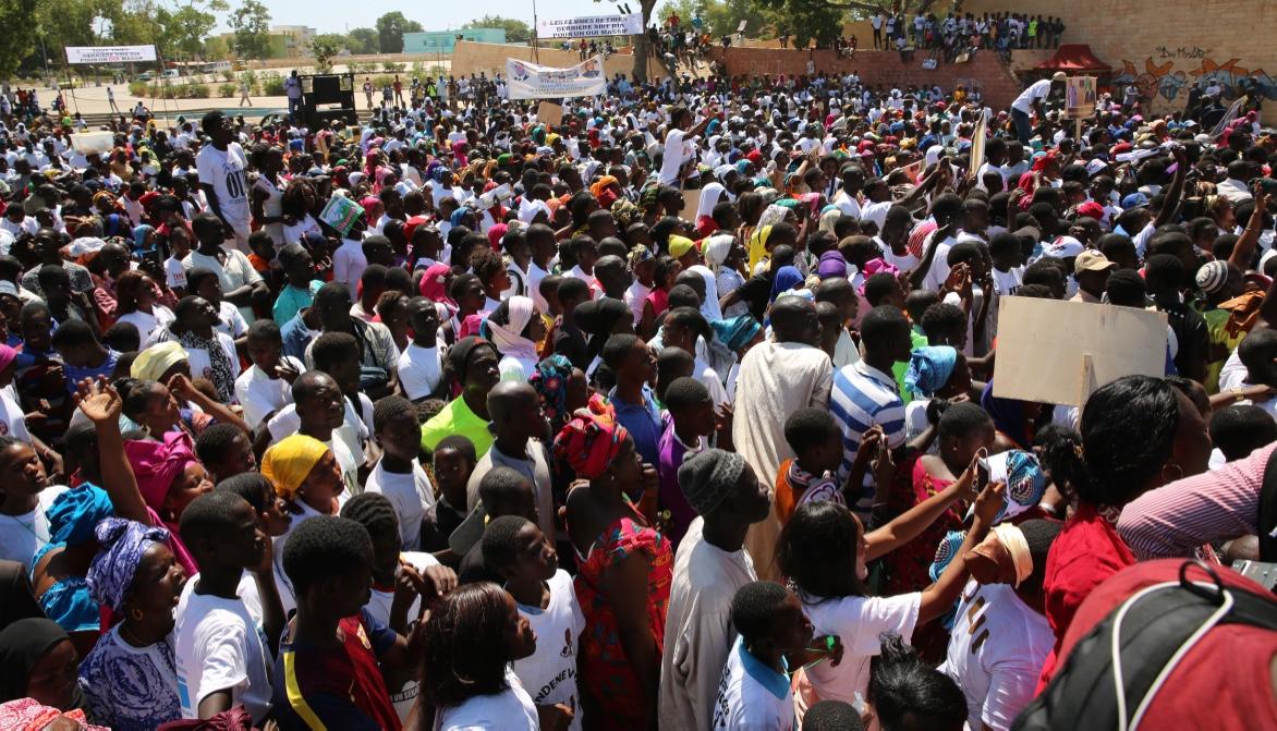 Référendum – Thiès : Macky Sall accueilli chez Idy