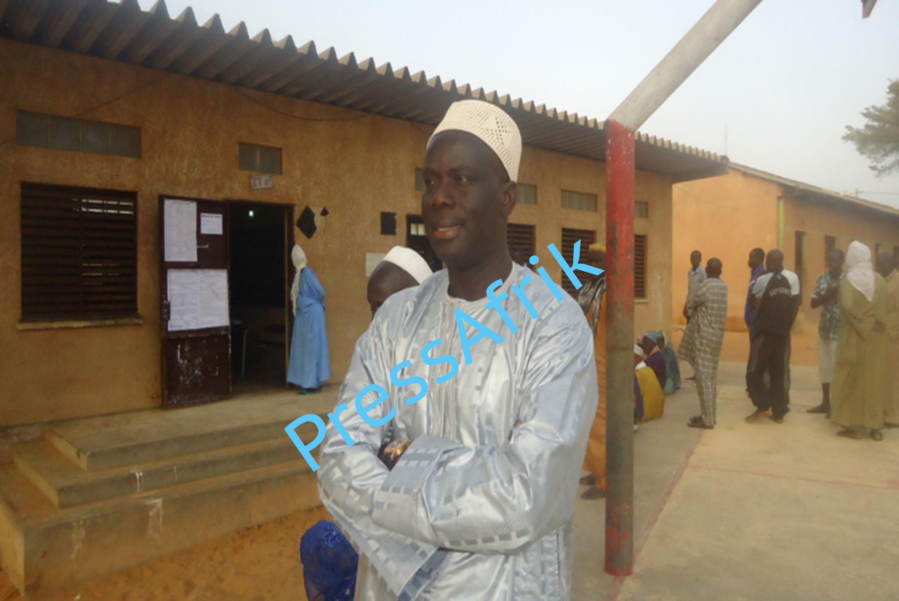 Guédiawaye : Malick Gakou remporte son bureau de vote