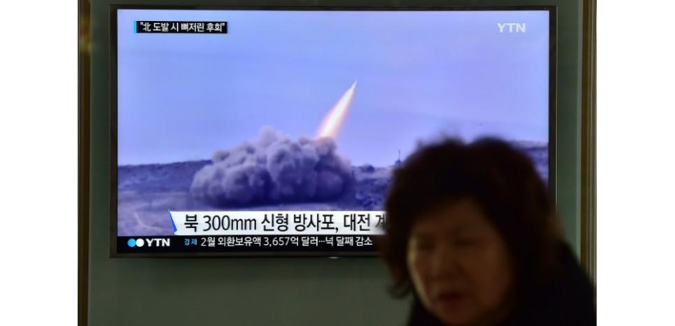 La Corée du Nord tire en mer de nouveaux missiles de courte portée