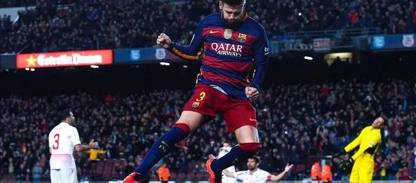 Barça, Piqué fait l'éloge de Cristiano Ronaldo