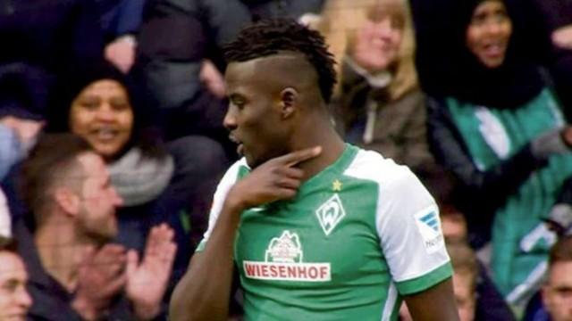 Werder Breme: Auteur d'un geste déplacé, Papy Djilobodji écope de 3 matches de suspension