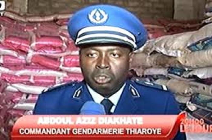 Des sacs de riz avariés reconditionnés pour la vente: 464,45 de tonnes saisies par la gendarmerie