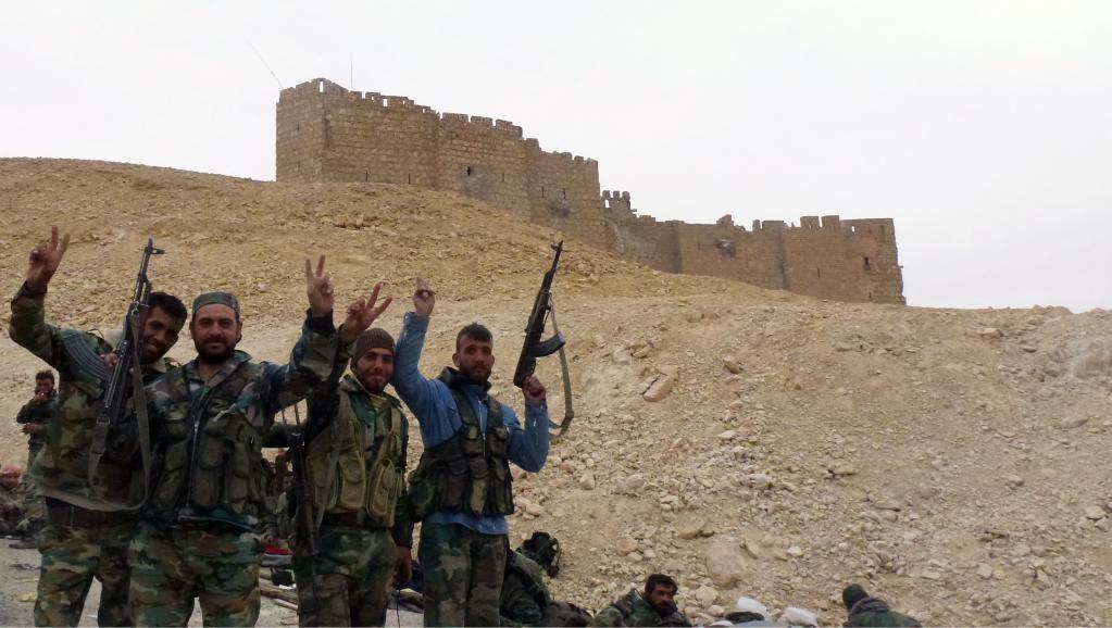 Syrie: l'armée annonce avoir repris le contrôle de Palmyre en totalité