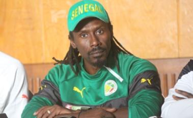 Aliou Cissé coach des  Lions-«Sur le bilan comptable d'après match, je suis satisfait du résultat»