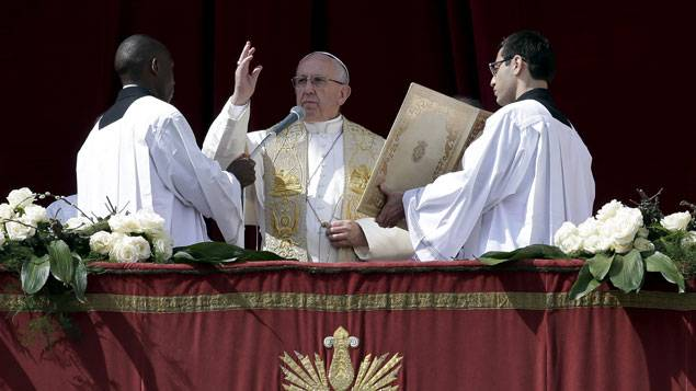 Urbi et Orbi : le pape délivre un message d'espérance
