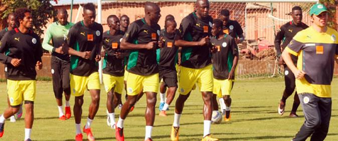 Bien arrivés au Niger, les «Lions» préparent le match de demain