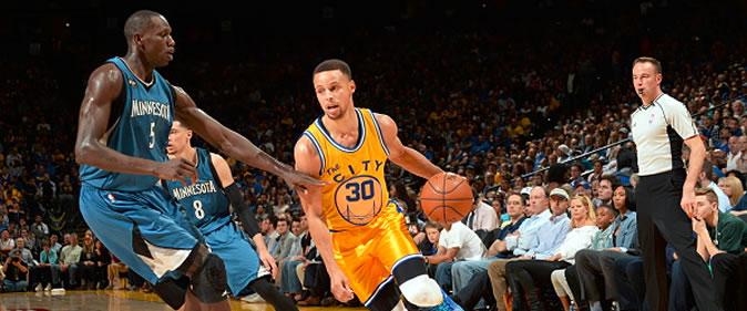 NBA - Gorgui Dieng et les Wolves s'offrent les Warriors