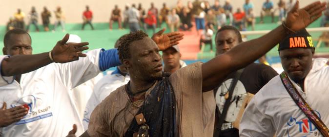 Ama Baldé «C'est dans cette arène que je vais devenir roi des arènes»
