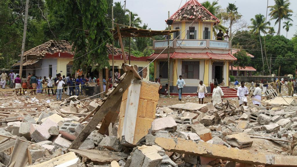 Inde: de très nombreux morts dans un incendie lors d'un festival