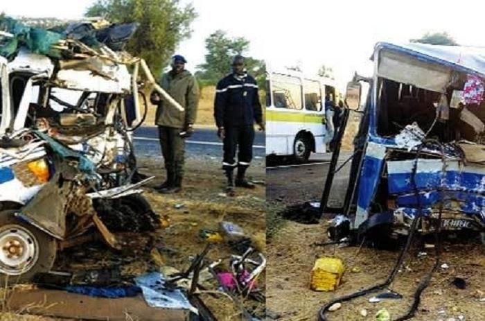 Dernière minute : 7 morts dans un accident à la sortie de Kaolack