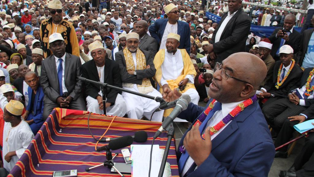 Présidentielle aux Comores: Mohamed Ali Soilihi réclame une élection partielle