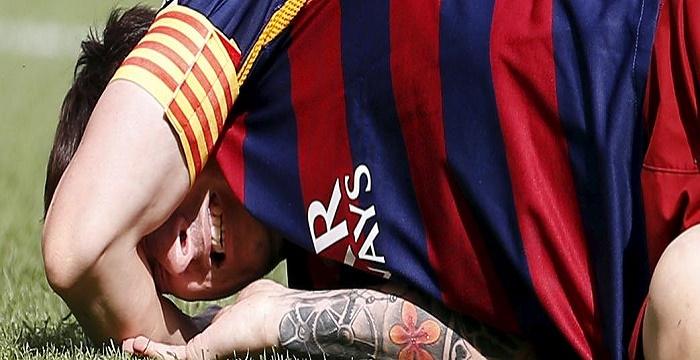 FC Barcelone : Depuis un mois, Lionel Messi joue blessé