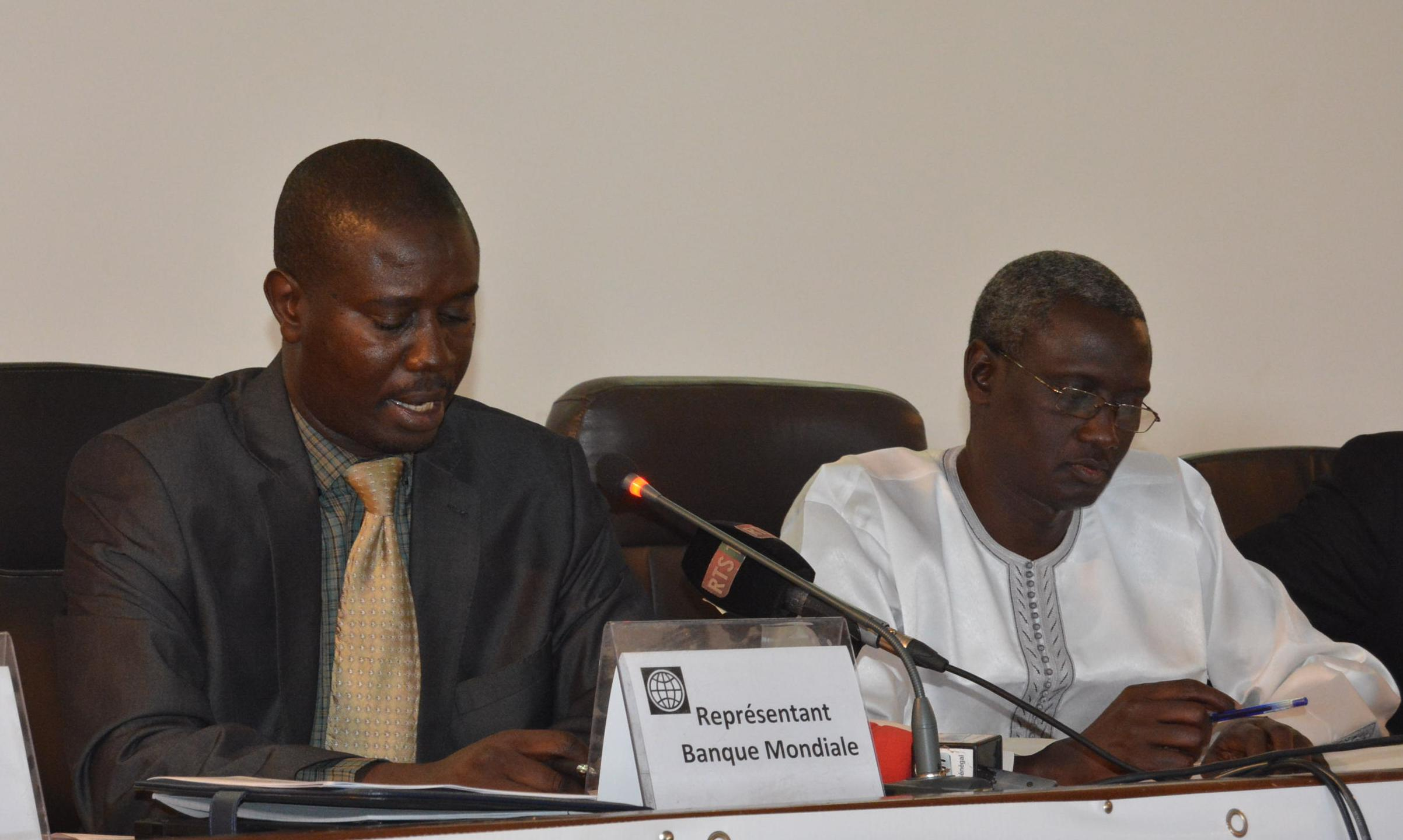 Atelier de dissémination de l'ICC : 2,2 millions de dollars octroyés par la Banque Mondiale