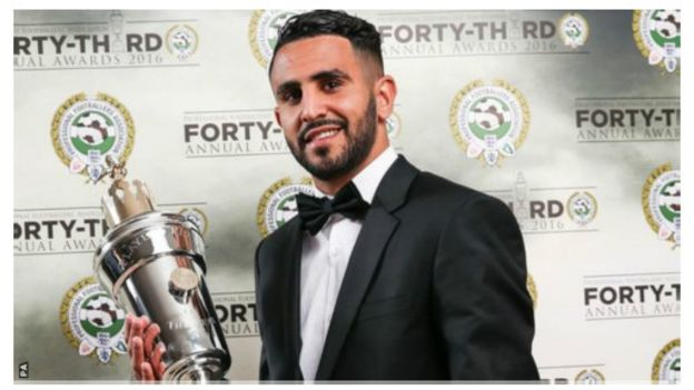 Riyad Mahrez joueur de l'année