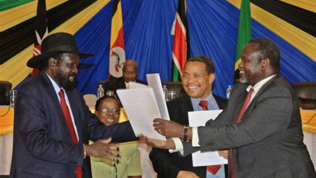Soudan du Sud: Machar attendu ce lundi