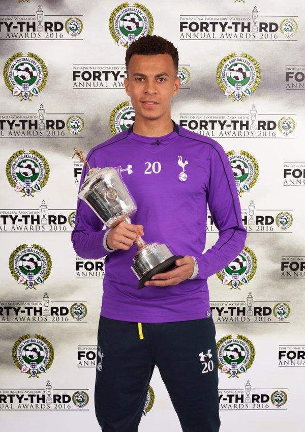 Dele Alli meilleur jeune de la Premier League