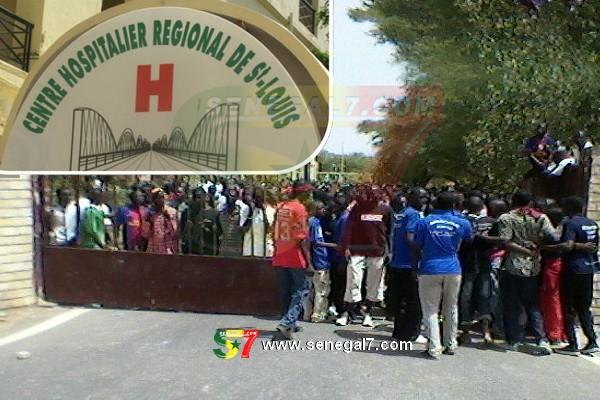 Blocage de l'hôpital de Guet-Ndar: les populations dans la rue pour protester contre la grève du Sutsas