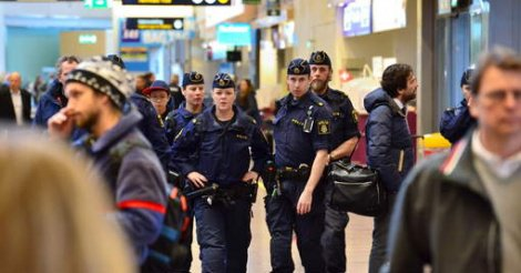 Risque d'attentat à Stockholm : la Suède a reçu des informations sur une menace terroriste ciblant sa capitale