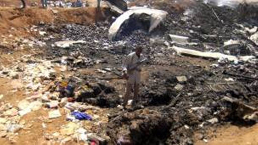 Soudan: crash d'un avion militaire