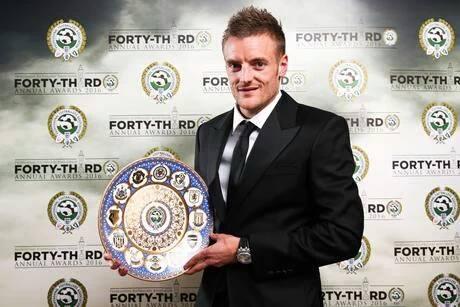 Jamie Vardy (Leicester) élu joueur de l'année par les journalistes