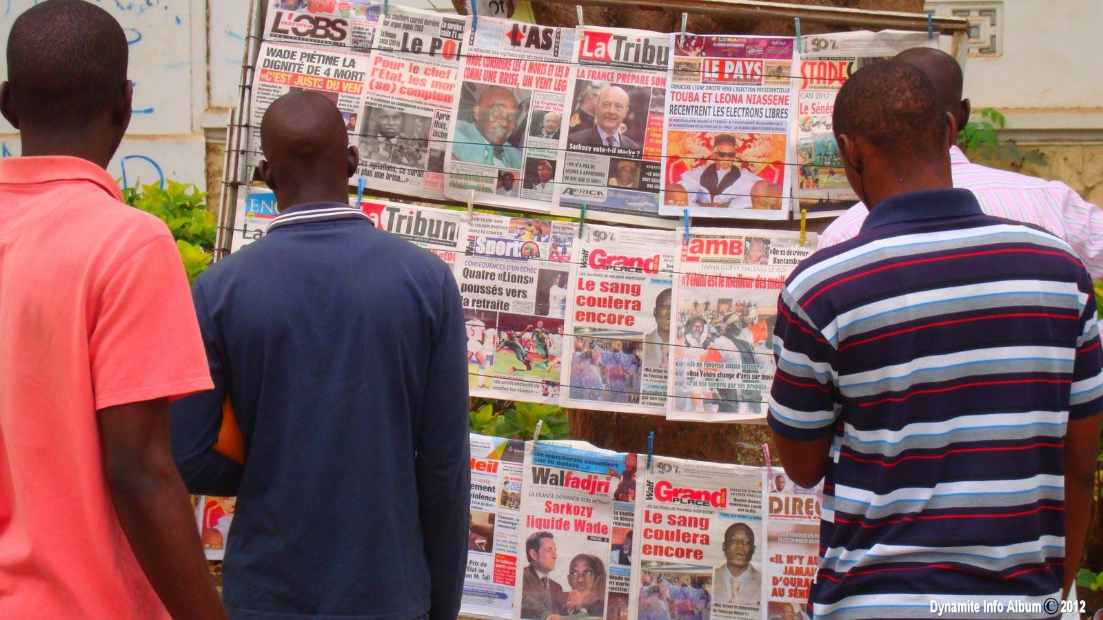 Liberté de la presse : certains sujets restent tabous au Sénégal, (classement RSF)