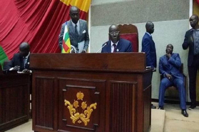 CENTRAFRIQUE: ABDOU KARIM MECKASSOUA EST ÉLU PRÉSIDENT DE L'ASSEMBLÉE NATIONALE.
