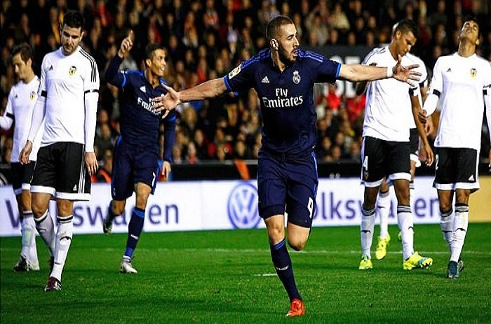 Liga: Le Real bat Valence et devient 2ème devant Atlético Madrid