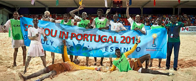 Beach soccer : Bientôt un championnat national de la disciple