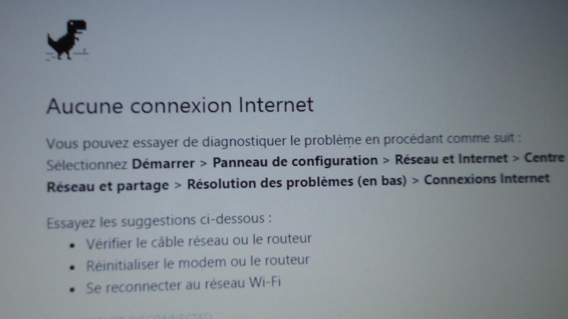 Sans connexion internet, les clients exigent l'amélioration de la qualité du service