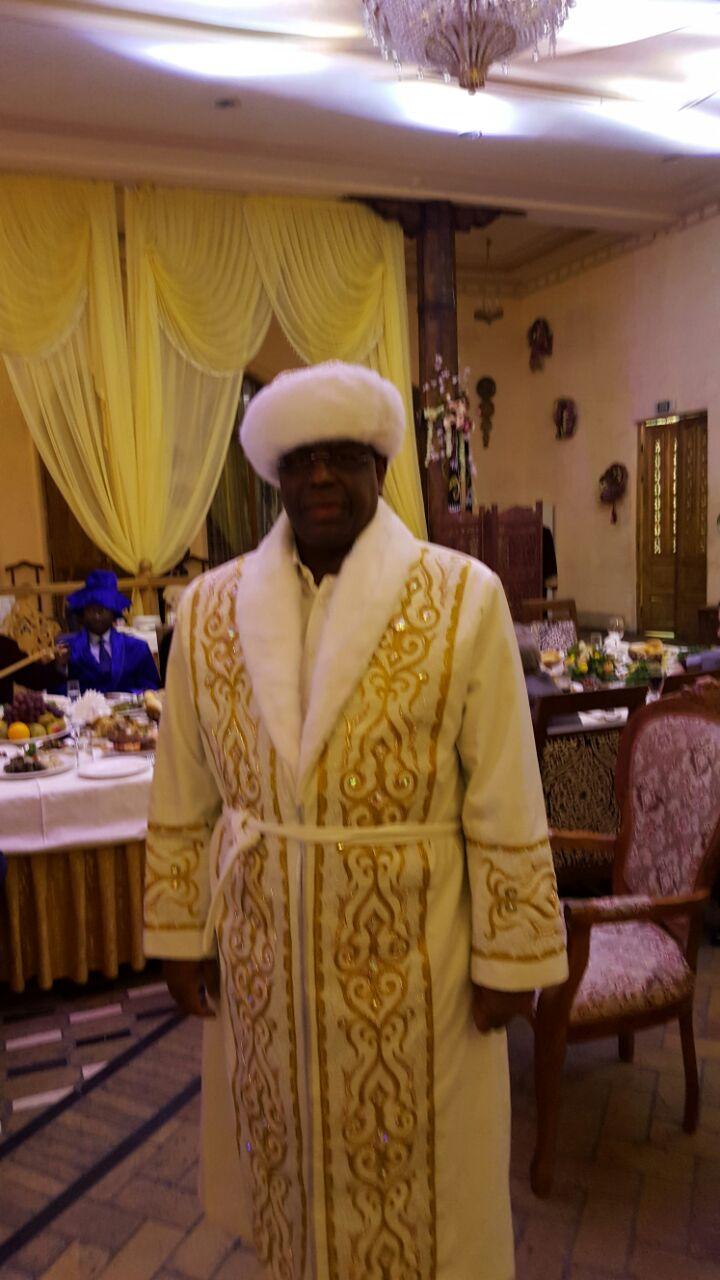 Tenue d'honneur du Kazakhstan offert au Président Macky Sall