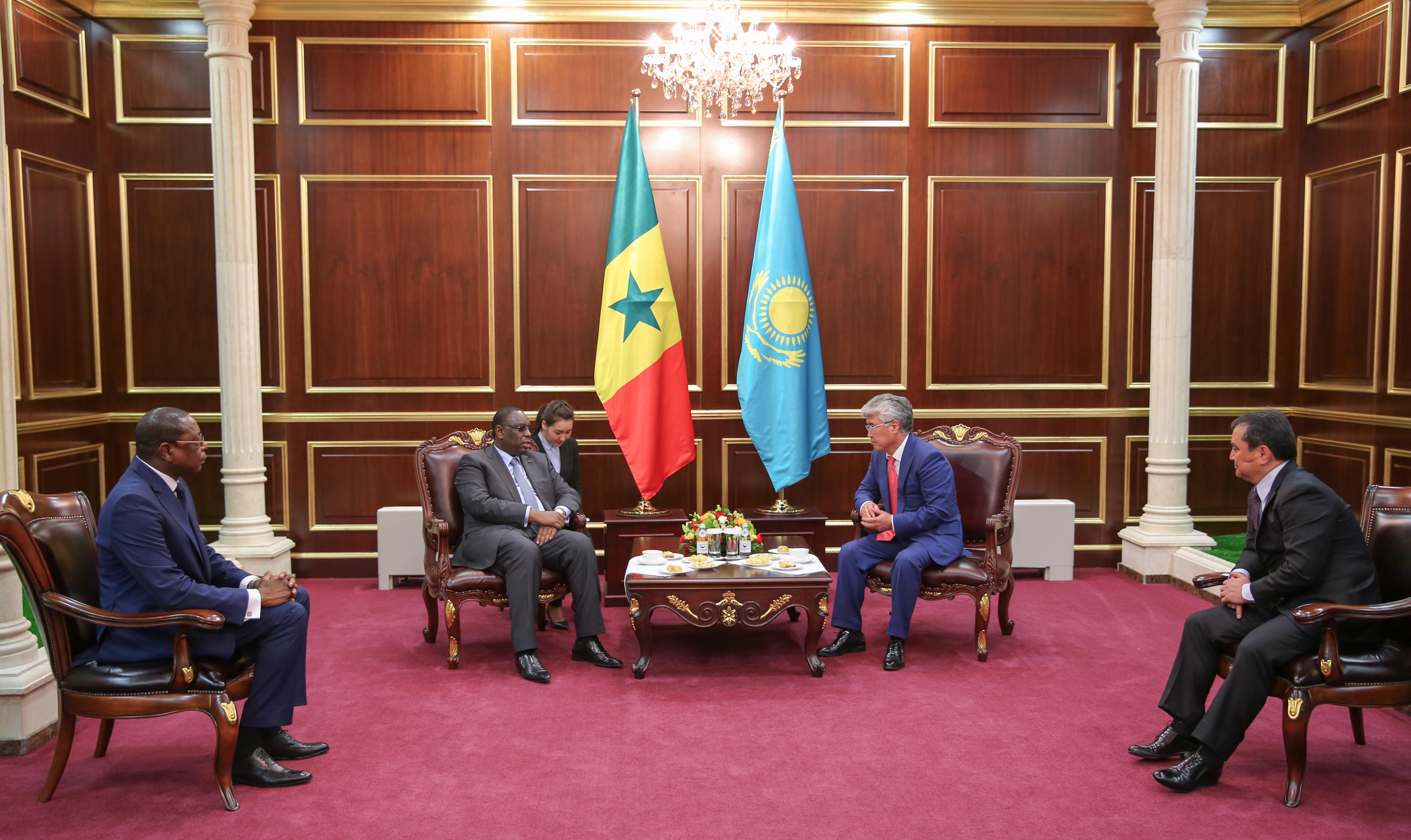 Le Sénégal souhaite bénéficier de l'expérience Kazakhe dans la gestion des ressources pétrolières