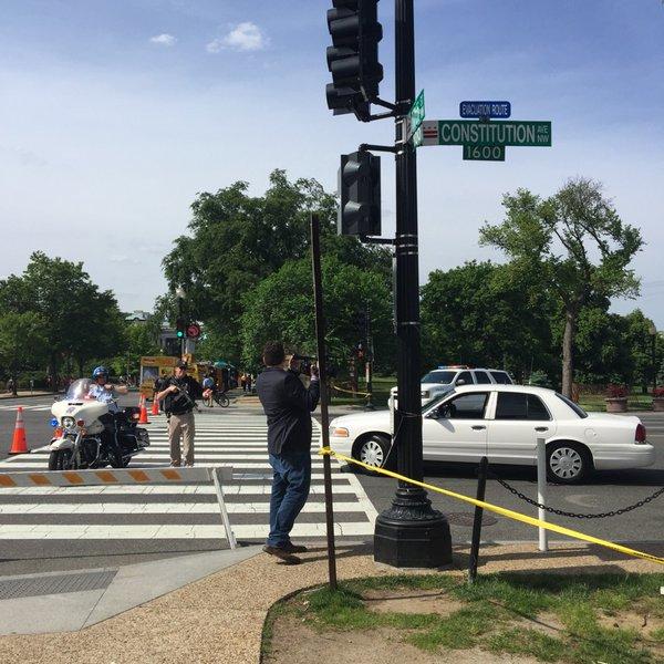 Fusillade près de la Maison Blanche à Washington, la zone est bouclée
