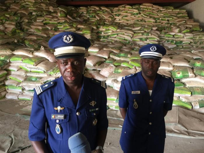 1030,15 tonnes de riz impropre à la consommation saisies par la gendarmerie