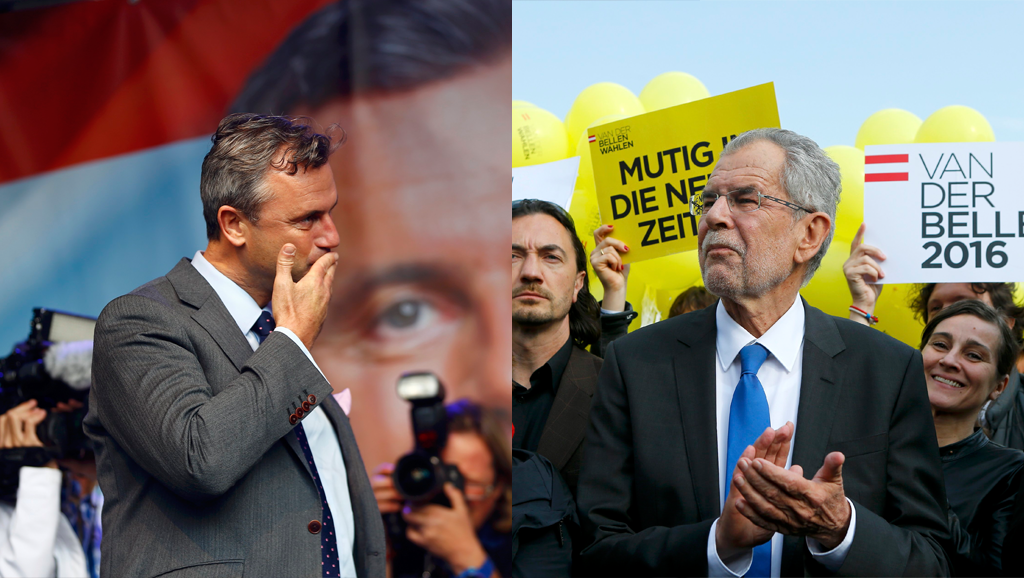 Présidentielle en Autriche: face-à-face inédit entre écologie et extrême droite