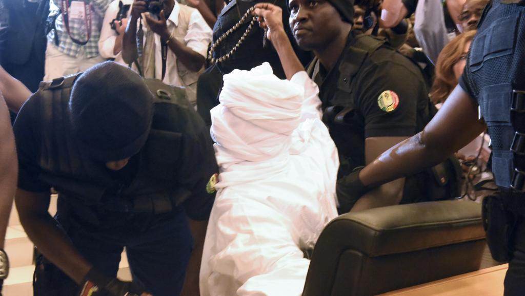 Hissein Habré après sa condamnation à perpétuité: «En bas la Françafrique»